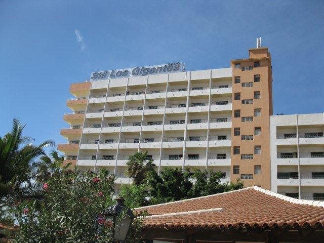 Hotel Los Gigantes From The Road